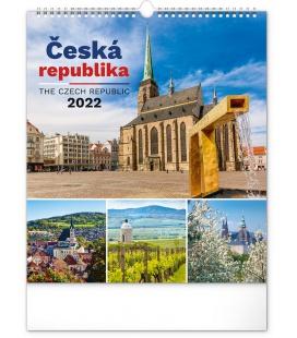 Wall calendar Czech Republic 2022