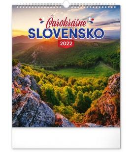 Wall calendar Wonderful Slovakia 2022