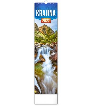 Wall calendar Landscape CZ/SK - vázanka  2022