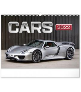Wall calendar Cars 2022