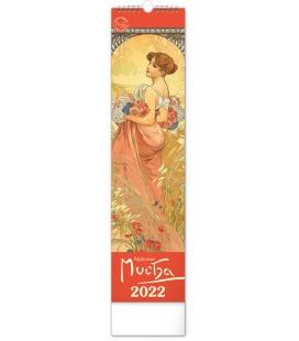 Wall calendar Alphonse Mucha CZ/SK - vázanka 2022