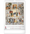 Wall calendar Josef Lada – Months 2022