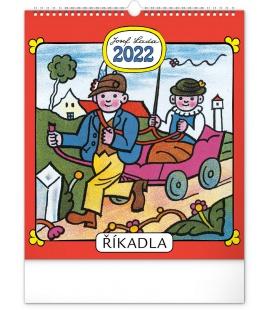 Wall calendar Josef Lada – Rhymes  2022