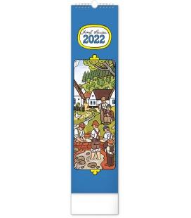 Wall calendar Josef Lada – Children CZ/SK - vázanka 2022