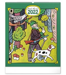 Wall calendar Josef Lada – Crafts 2022