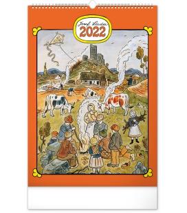 Wall calendar Josef Lada – Year in the Village 2022