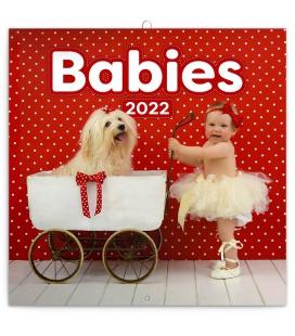 Wall calendar Babies 2022
