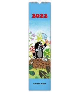 Wall calendar The Little Mole CZ/SK - vázanka 2022