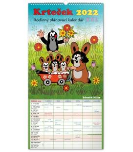 Wall calendar Family planner The Little Mole XXL 2022