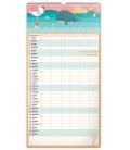 Wall calendar Family planner XXL 2022