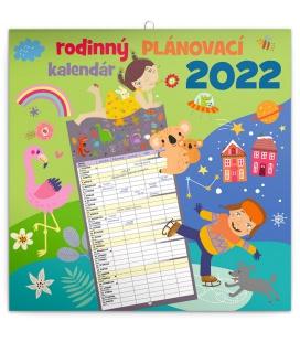 Wall calendar Family planner SK 2022