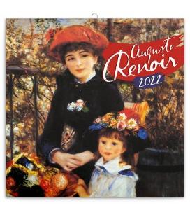 Wall calendar Auguste Renoir 2022