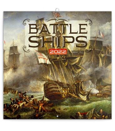 Wall calendar Battleships 2022
