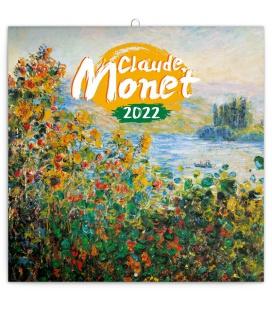 Wall calendar Claude Monet 2022