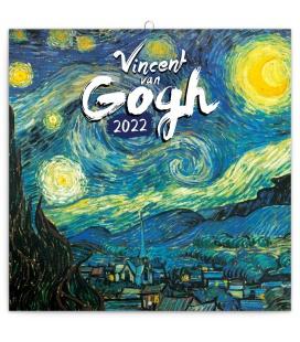 Wall calendar Vincent van Gogh 2022