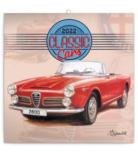 Wall calendar Classic Cars – Václav Zapadlík 2022