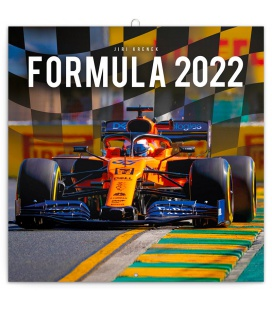 Wall calendar Formula 2022