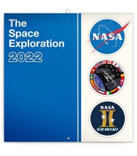 Wall calendar NASA 2022