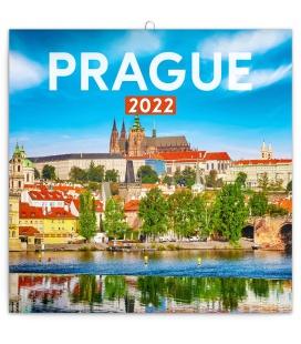 Wall calendar Prague in Summer 2022