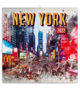 Wall calendar New York 2022