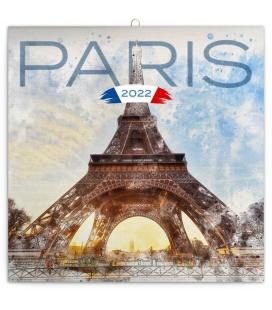 Wall calendar Paris 2022