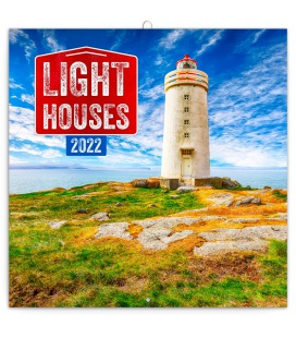 Wall calendar Lighthouses 2022