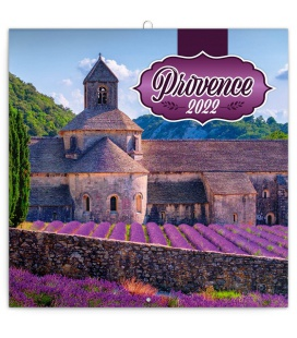 Wall calendar Provence – scented 2022
