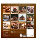 Wall calendar Chocolate – scented 2022