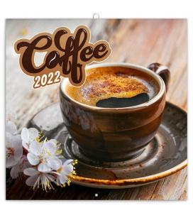 Wall calendar Coffee – scented 2022