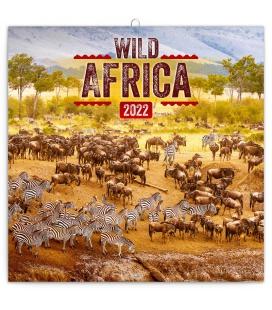 Wall calendar Wild Africa 2022