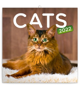 Wall calendar Cats 2022