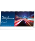 Table calendar Weekly planner with taxes 2022
