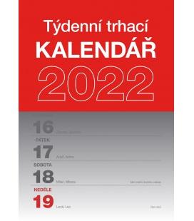 Wall calendar Tear–off weekly calendar A5 2022