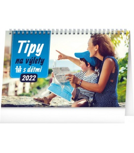 Table calendar Tips for Trips with Kids 2022