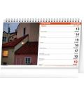 Table calendar I Love Prague 2022