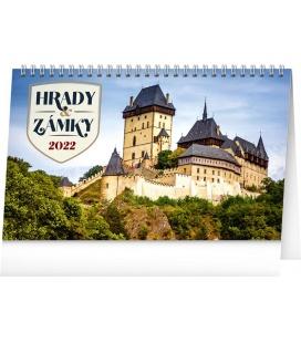 Table calendar Castles 2022