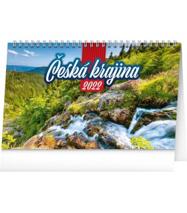 Table calendar Landscapes of Czech Republic 2022