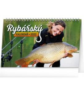 Table calendar Fishing 2022