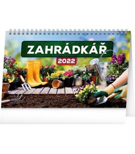Table calendar Gardening 2022
