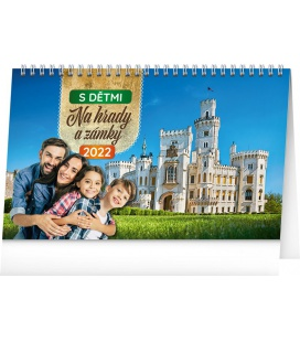 Table calendar Travel Tips with kids 2022