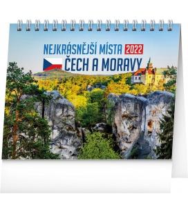 Table calendar Beautiful Places of Czechia 2022