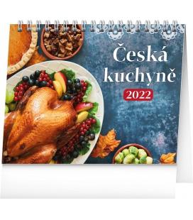 Table calendar Czech Cuisine 2022