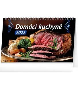Table calendar Home Cookbook 2022