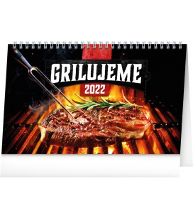 Table calendar Grilling 2022