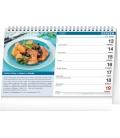 Table calendar Cookbook for Men 2022