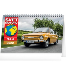 Table calendar Svět motorů 2022