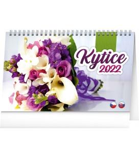 Table calendar Flowers 2022