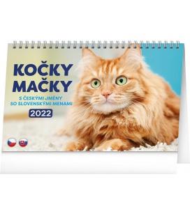 Table calendar Cats 2022