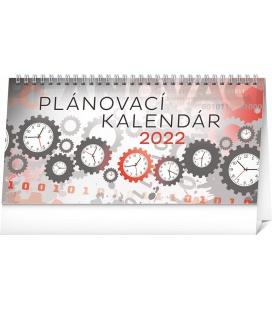 Table calendar Weekly planner 2022