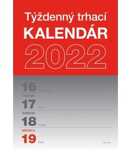 Wall calendar Tear–off weekly calendar A5 - SK 2022